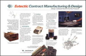 Eutectic Contract Manufacturing Brochure Inside