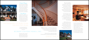 Reinert Custom Homes Brochure Inside